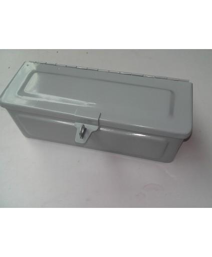 Gereedschapskist grijs 280mm x 105mm x 105mm